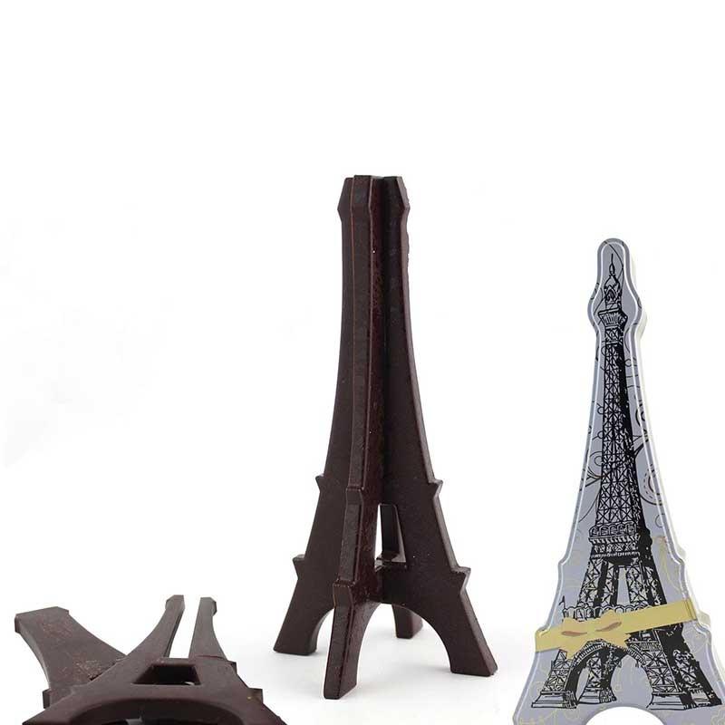 Tour Eiffel en chocolat noir