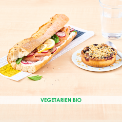 Pack sandwich Végétarien BIO